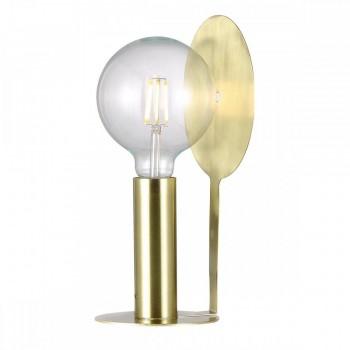 Nordlux Dean Disc 46625025 Brass Table Lamp
