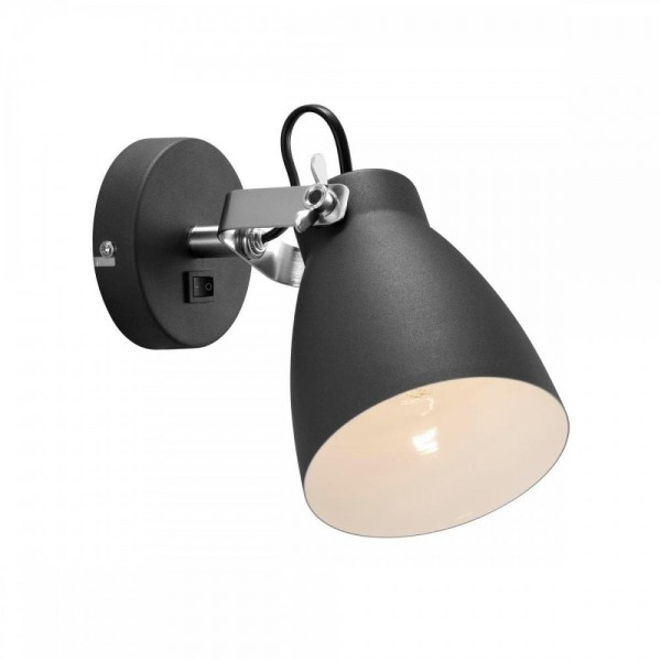 Nordlux Largo 47051003 Black Wall Light
