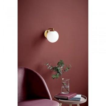 Nordlux Grant 47091025 Brass Wall Light