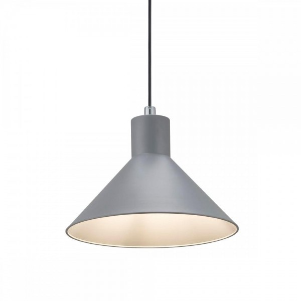 Nordlux Eik 46563010 Grey Pendant Light