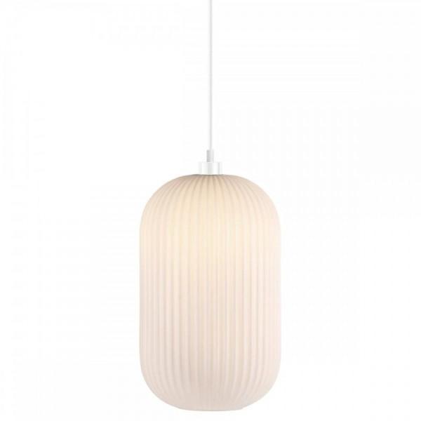 Nordlux Milford 20 46573001 Opal White Pendant Light