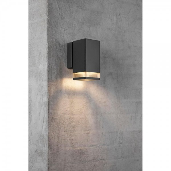 Nordlux Elm Single 45321003 Black Outdoor Wall Light