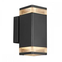 Nordlux Elm Double 45331003 Black Outdoor Wall Light