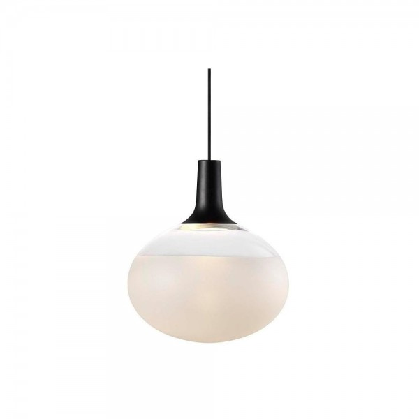 Nordlux DFTP 84413003 Dee 2.0 Black/Frosted Glass Pendant Light