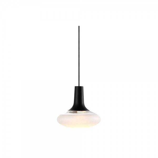 Nordlux DFTP 84423003 Dee 2.0 Black/Frosted Glass Pendant Light