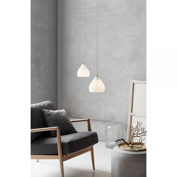 Nordlux DFTP 46073001 Sence 16 Opal White Glass Pendant Light