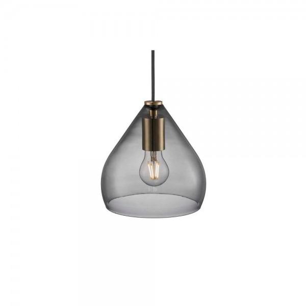Nordlux DFTP 46083047 Sence 21 Smoked Glass Pendant Light