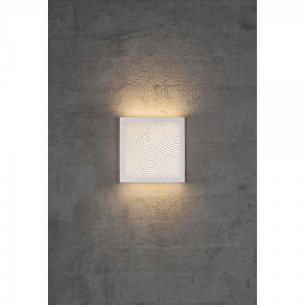 Nordlux DFTP 46871001 Maze Straight White Outdoor Wall Light
