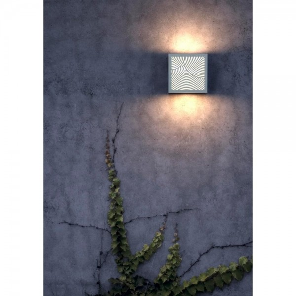 Nordlux DFTP 46881001 Maze Bended White Outdoor Wall Light
