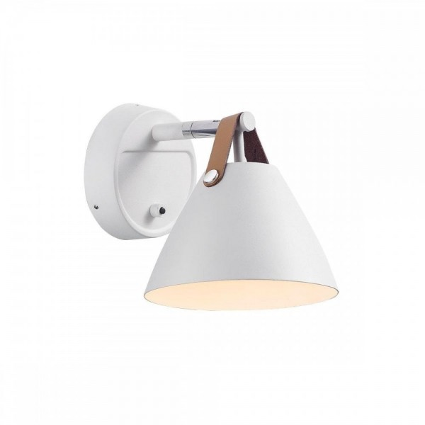 Nordlux DFTP 84291001 Strap 15 White Wall Light