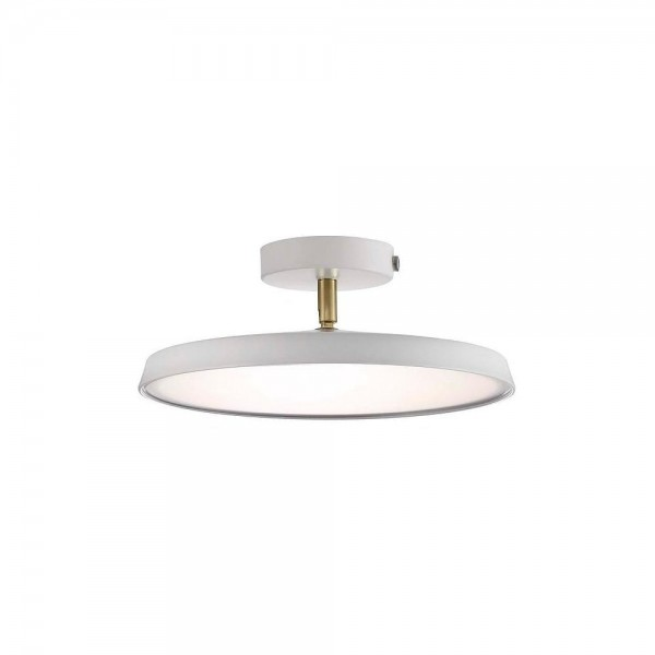 Nordlux DFTP 77176001 White Alba Pro 30 LED Ceiling Light
