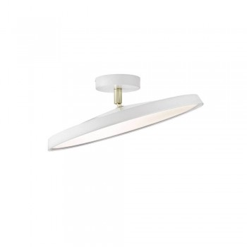 Nordlux DFTP 77186001 White Alba Pro 40 LED Ceiling Light