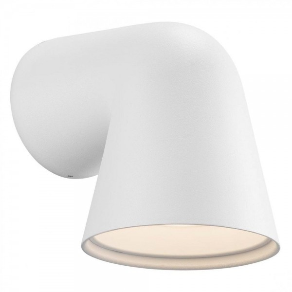 Nordlux DFTP 46801001 White Front Single Outdoor Wall Light