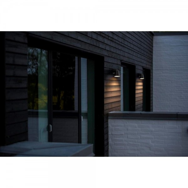 Nordlux DFTP 46801003 Black Front Single Outdoor Wall Light