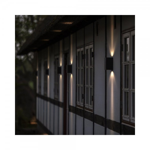 Nordlux DFTP 77531003 Canto Maxi Kubi Black Outdoor Wall Light