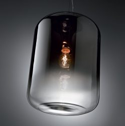 Ideal Lux 112084 Small Ken Smoked Pendant