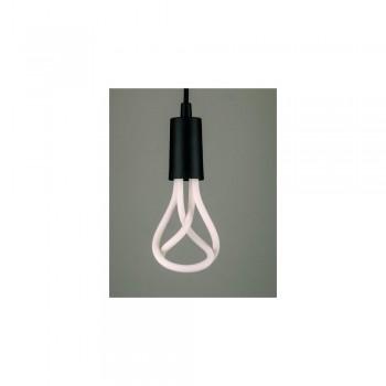 Plumen 001 LED Bulb and Pendant Set Black