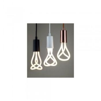 Plumen 001 LED Bulb and Pendant Set White