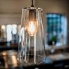 Culinary Concepts LX-PORT-TPL Triple Portobello Glass Pendant- Black Finish