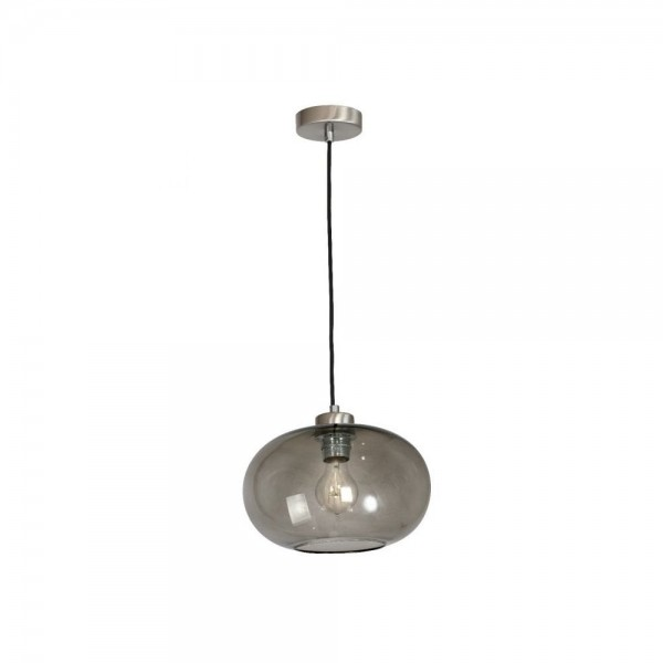 Culinary Concepts LX-6489-NKL Arundel Smoked Pendant Light