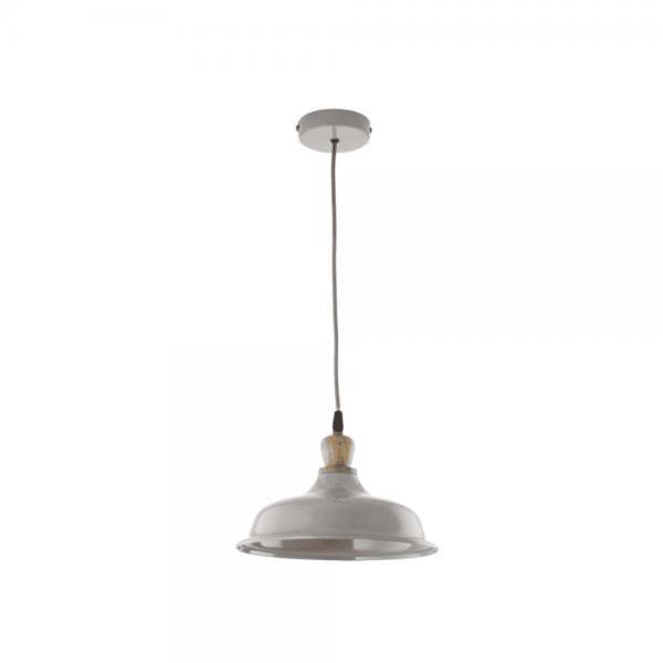 Dar Lighting TYG0139 Tygo Grey Pendant