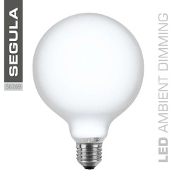 Segula 50269 Ambient Dimming LED Globe 125 Opal