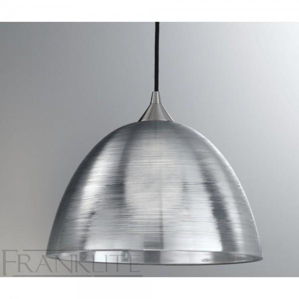 Franklite FL2290/1/928 Translucent Silvered Glass Single Pendant
