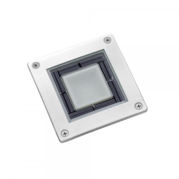 Solar Stainless Steel Square Decking Light SS7543