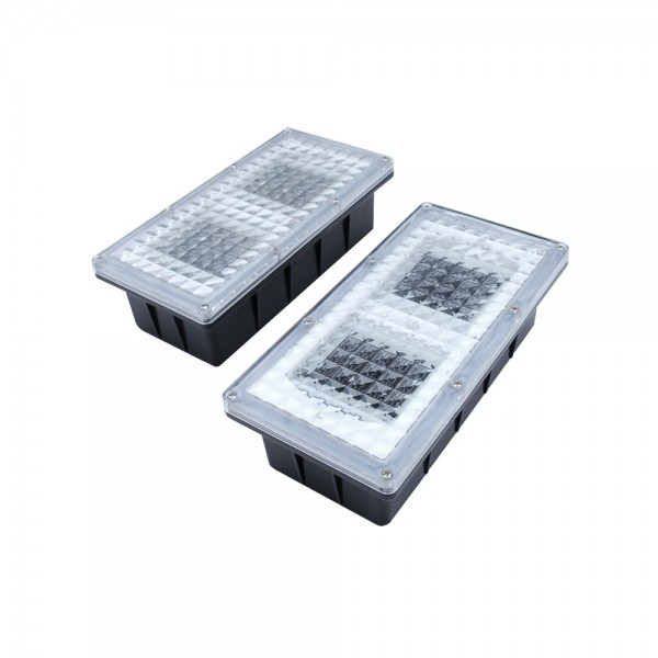 Two Paverlight Solar Brick Lights SS9787
