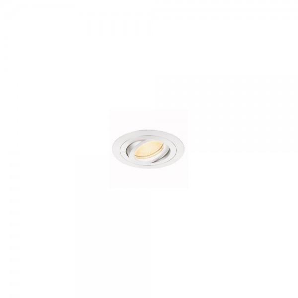 SLV 113500 New Tria Round MR16 Matt White Downlight