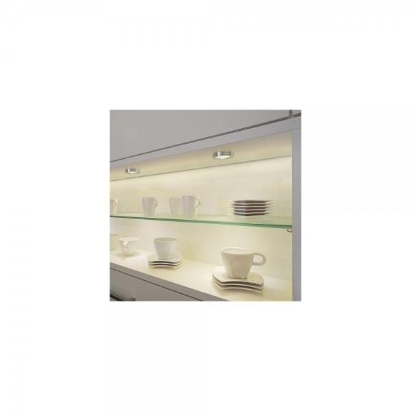 SLV 114802 LED Aluminium Warm White Downlight