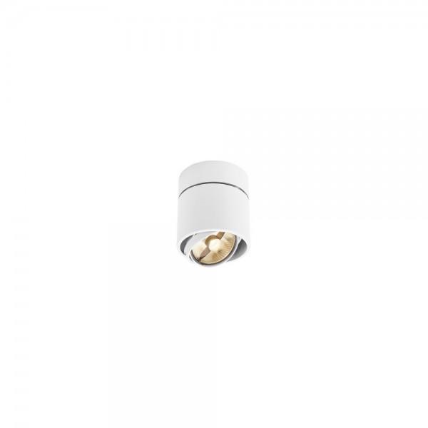 SLV 117161 White Kardamod Surface Round ES111 Single Ceiling Light