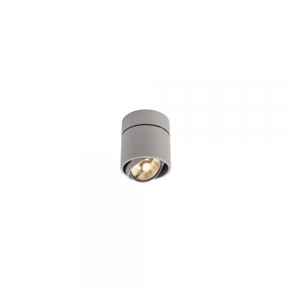 SLV 117164 Silver Kardamod Surface Round ES111 Single Ceiling Light