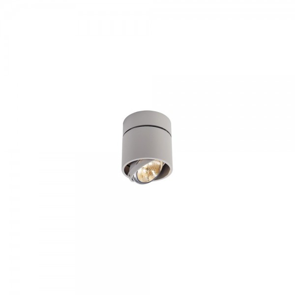 SLV 117174 Silver Kardamod Surface Round QRB Single Ceiling Light