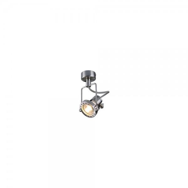 SLV 131108 N-Tic Spot 50mm Chrome Spotlight with Canopy