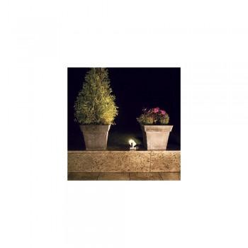 SLV 132832 Silver-Grey Cubix I GU10 Outdoor Floor Lamp
