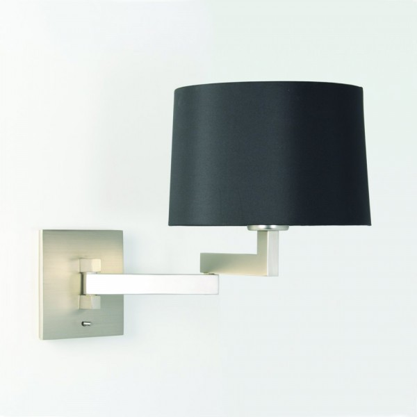 Astro Lighting Momo 1162003 Matt Nickel Momo Swing Arm Wall Light