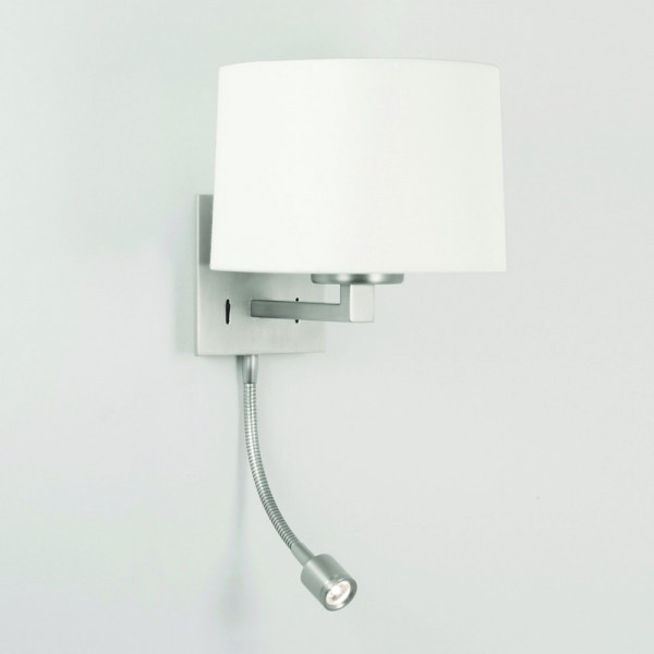 Astro Lighting Azumi LED Classic 1142014 Matt Nickel Interior Wall Light