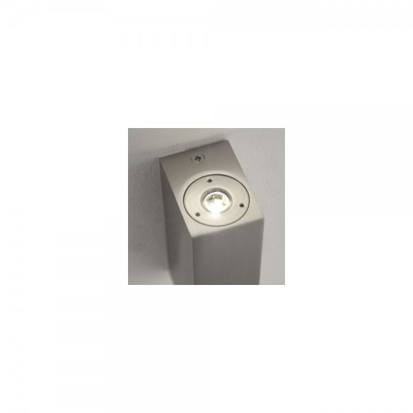 Astro Lighting Bloc 1146004 Matt Nickel Bathroom Wall Light