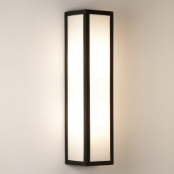 Astro Lighting Salerno 1178001 Black Outdoor Wall Light