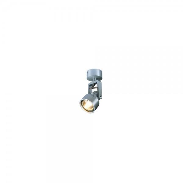 SLV 147559 Brushed Aluminium Inda GU10 Ceiling & Wall Spotlight