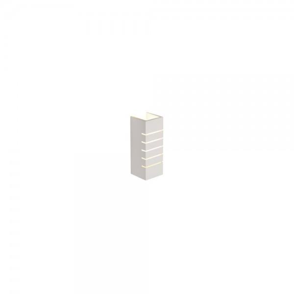 SLV 148010 GL 100 Slot Plaster White Wall Light