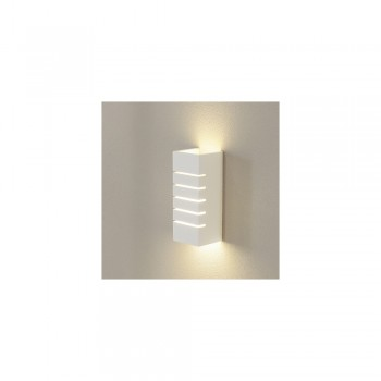 SLV 148010 GL 100 Slot Plaster White Wall Light