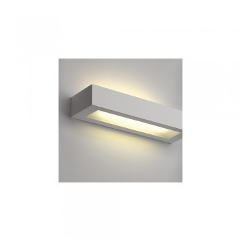 SLV 148011 GL 103 T5 Plaster White Wall Light