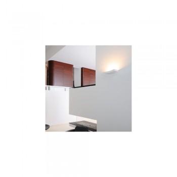 SLV 148012 GL 102 Curve Plaster White Wall Uplighter