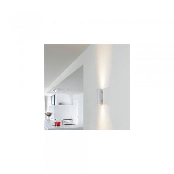 SLV 151804 Silver Grey/Black Enola_B Up-Down Wall Light