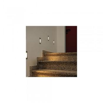 SLV 152070 White LED Downunder Mini 3000K Recessed Wall Light