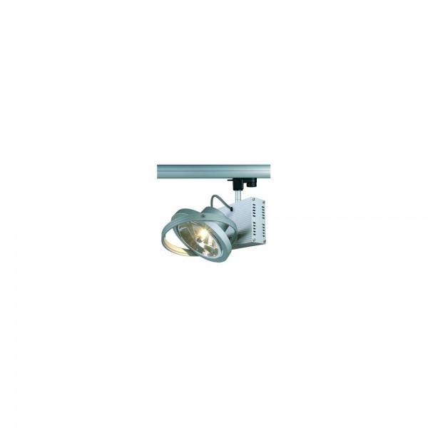 SLV 153002 Silver Grey Tec I QRB Eutrac 240v 3 Circuit Track Light