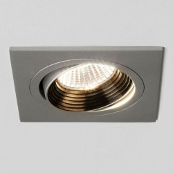 Astro Aprilia Square 1256006 Anodised aluminium finish Finish Adjustable Interior Downlight
