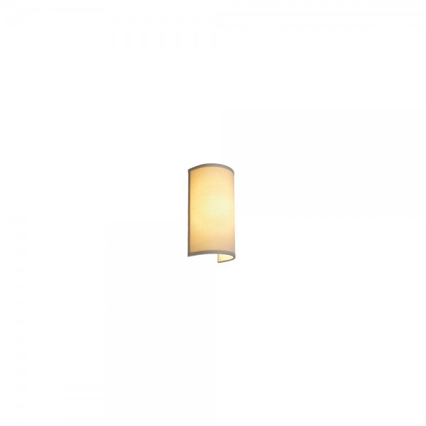 SLV 155643 Chrome/Beige Soprana WL-2 Wall Light